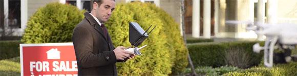 Use drone ou véhicule aérien non habité (UAV) pour le travail ou la recherche